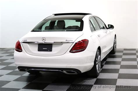 2015 mercedes benz c300 4matic review. 2015 Used Mercedes-Benz C-Class CERTIFIED C300 4Matic AWD CAMERA PANO NAVIGATION at ...