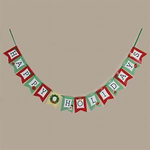 Items similar to DIY PRINTABLE Happy Holidays Banner ...