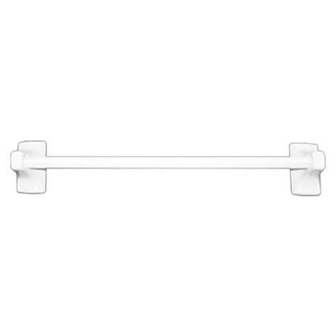 daltile bath accessories 24 quot towel bar white glazed