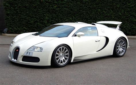 Bugati Car by Sports Cars Bugatti Veyron White