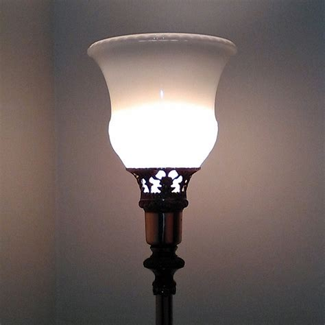 Torchiere Glass Lamp Shades  Glass Lampshades