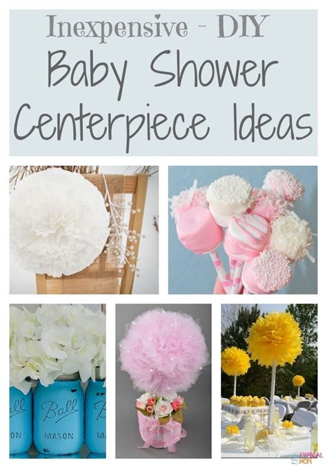 how to make cheap decorations diy baby shower decorating ideas 183 the typical mom