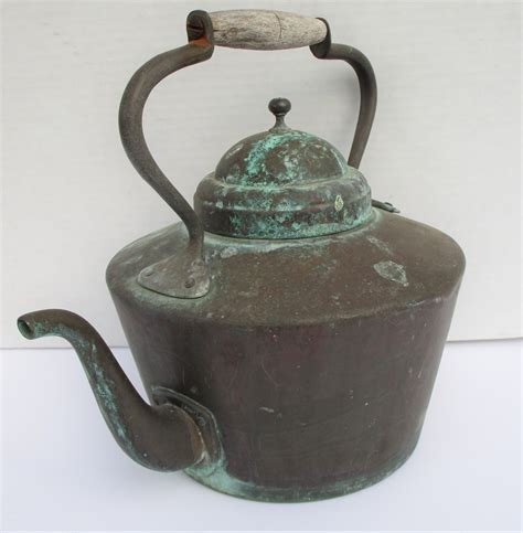 patinated kettle copper french