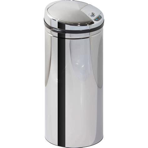 poubelle de cuisine poubelle de cuisine 50 l inox leroy merlin