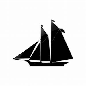 Sailboat Icon Style4 #044564 » Icons Etc