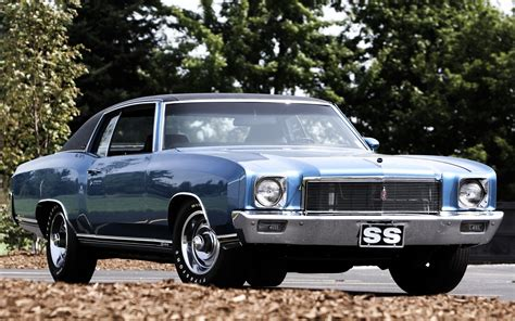 1971 Chevrolet Monte Carlo Muscle Cars Classic Wallpaper