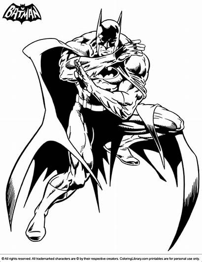 Coloring Batman Cool Library Pages Development Learn