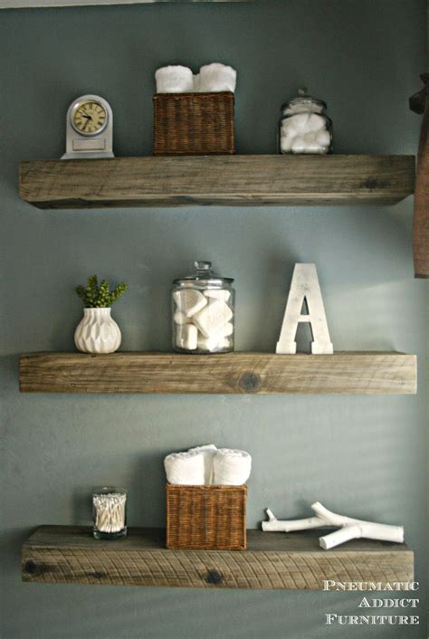 Wood Shelves by How To Create A Weathered Barnwood Look With This