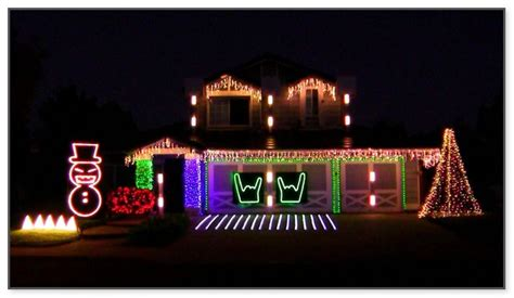 christmas in a box light show christmas lights card and
