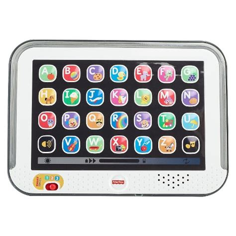 fisher price laugh learn smart stages tablet gray target