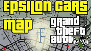 GTA 5 - Map to all the Epsilon Car Locations - Where to ...