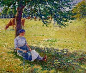 Eragny Art De Vivre : vaquera eragny 1887 de camille pissarro 1830 1903 ~ Dailycaller-alerts.com Idées de Décoration
