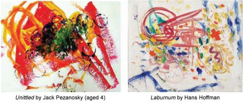 child couldnt paint   people  abstract art