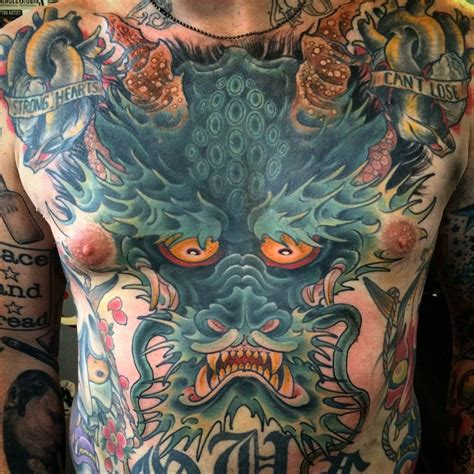 japanese dragon cover  tattoo  ryan scapegoat  tattoo ideas gallery