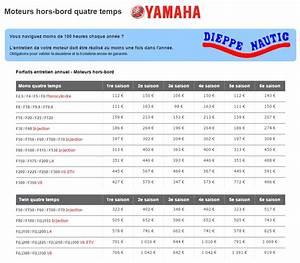 Entretien Moteur Hors Bord Yamaha 4 Temps : yamaha 4 ~ Medecine-chirurgie-esthetiques.com Avis de Voitures