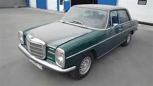 1971 Mercedes Benz 200d Diesel Engine Start