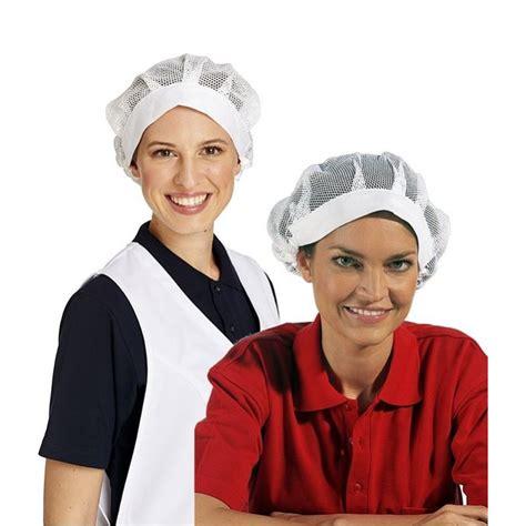 coiffe de cuisine de cuisine avec bande élastique résille