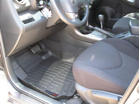 weathertech floor mats rav4 2008 toyota rav4 floor mats weathertech
