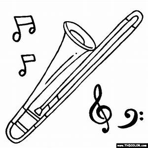 100% Free Musical Instruments Coloring Pages. Color in ...