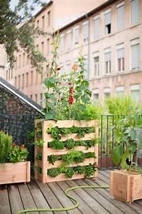 faire un potager sur une terrasse cote maison With amenagement jardin petite surface 12 10 decorations pour amenager un balcon habitatpresto