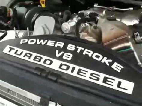 Ford Super Duty Power Stroke Turbo Diesel Engine