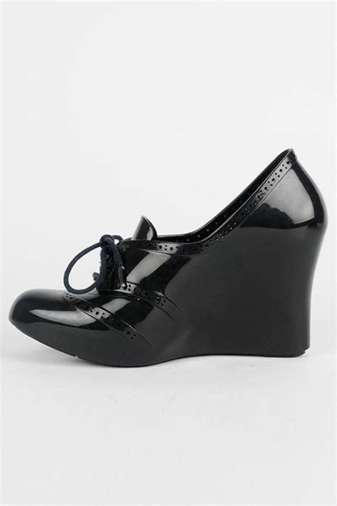 melissa troupe black wedges tradesy