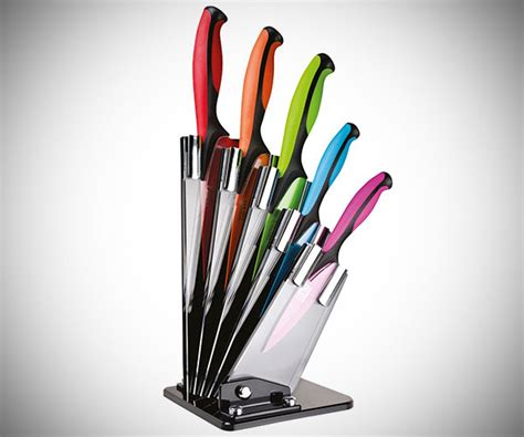 colored knife set dexterity colored 5 knife block set 187 cool sh t i buy
