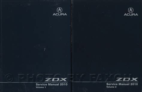 how to download repair manuals 2011 acura zdx seat position control 2010 2011 acura zdx service manual 2 volume set