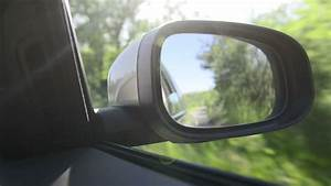 Stock video of shoot in rear-view mirror of car | 3918764 ...