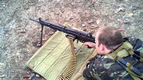 Hk21 Full Auto Belt Fed Machine Gun