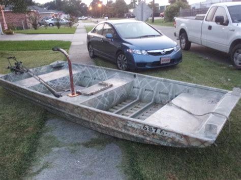 Small Flat Bottom Boat by Build A Flat Bottom Jon Boat Jamson