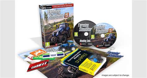 siege social micromania farming simulator 15 edition collector sur pc tous les