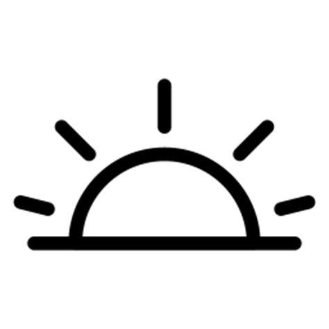 sunrise icon  iconset iconsmind