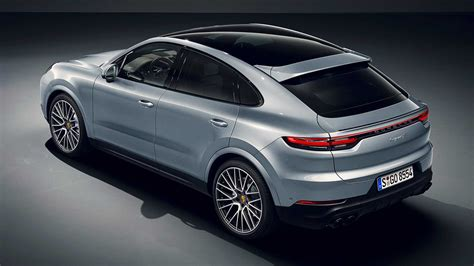 Chalk Porsche Cayenne Turbo Coupe Spotted at Dealer, Looks ...