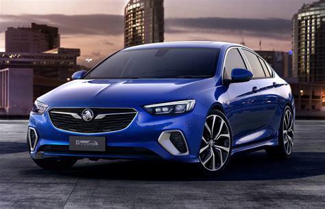 vauxhall australian 2018 holden commodore vxr revealed as performance variant