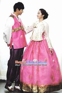 Wedding dress hanbok from princess man filmek sorozatok for Hanbok wedding dress