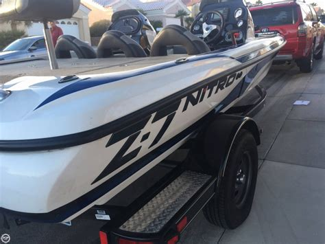 Used Bass Boats Las Vegas by 2015 Used Nitro Z 7 Dc Bass Boat For Sale 27 800 Las