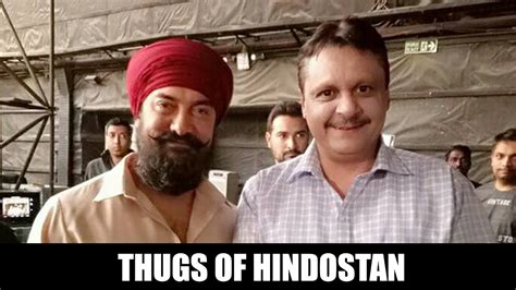 Aamir Khan's Sikh Look For Thugs Of Hindostan Youtube
