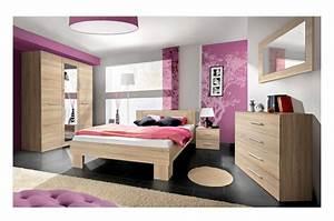 Meuble Chambre Pas Cher : chambre coucher moderne chambre compl te pas cher ~ Teatrodelosmanantiales.com Idées de Décoration