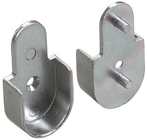 flange with 5mm dowel for 1 1 16 quot rod chrome