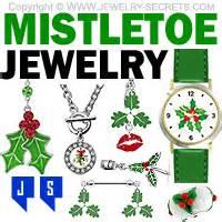 mistletoe jewelry   kiss jewelry secrets