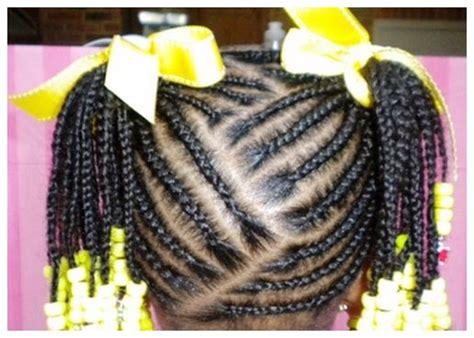 African American Little Girl Braids Hairstyles