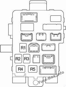 Fuse Box Diagram Toyota Tundra  2004