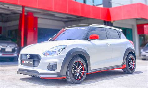 suzuki swift  zercon body kit  aggressive
