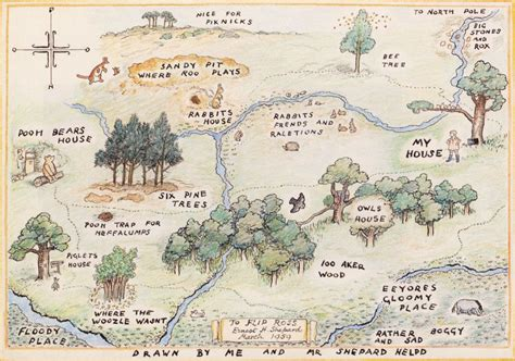 The Hundred Acre Wood And Other Haunts Of