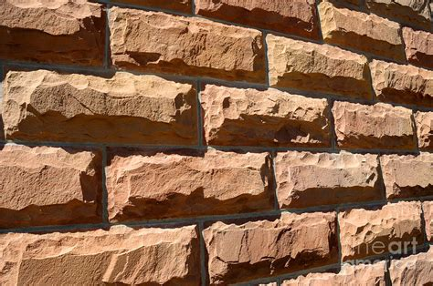 shower curtains hewn sandstone brick wall of a historic building in