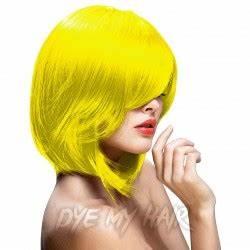 Yellow Hair Dye Neon Canary Semi Permanent Colour Banana