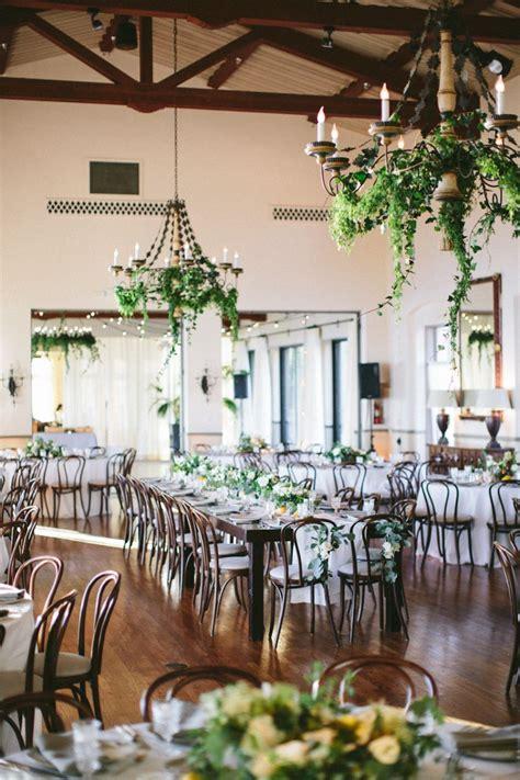 Bel Air Ballroom Wedding with Shades of Green Indoor