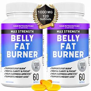 Belly Fat Burner Pills - Cla - Conjugated Linoleic Acid Softgels