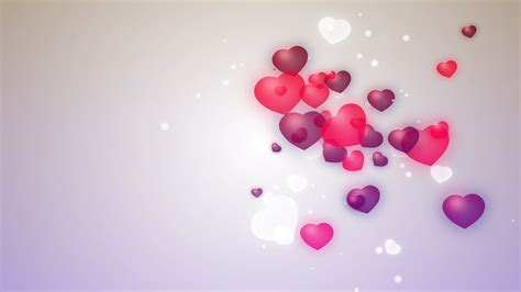 love shape animation video abstract heart background hd